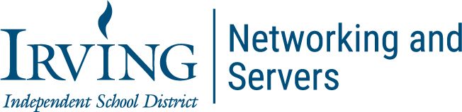 Networking and Servers Subpage Header